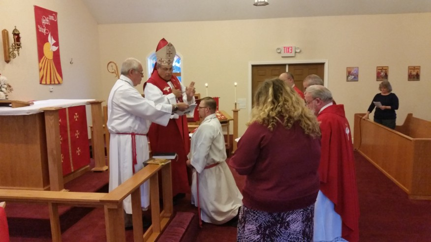 Blessing of Sub Deacon